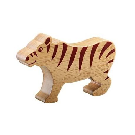 Tigre bois massif