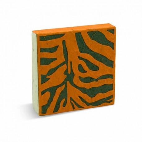 Petit carnet Peau de bête - Tigre
