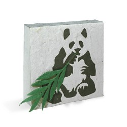 Bloc notes Panda assis