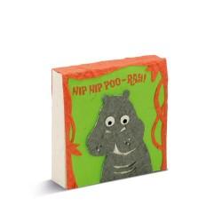 Bloc notes Tête d'hippopotame- PooPooPaper