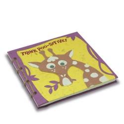Journal relié Tête de girafe