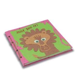 Journal relié Tête de lion