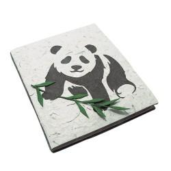 Cahier journal Panda bébé
