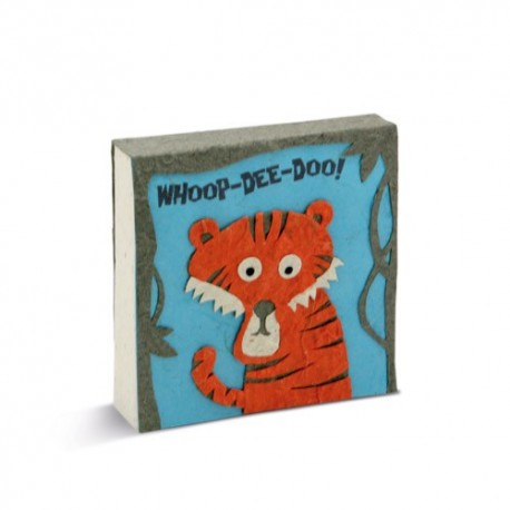 Bloc notes Tête de tigre - PooPooPaper