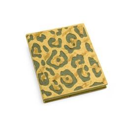 Carnet peau de jaguar PooPooPaper