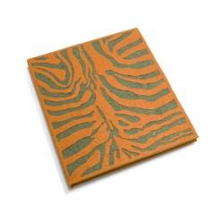 Cahier journal Peau de bête - Tigre