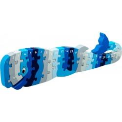 Puzzle baleine 1-25