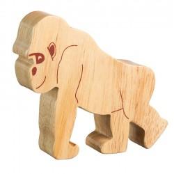 Gorille bois massif