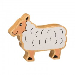 Mouton bois massif peint