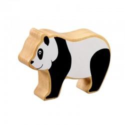 Panda bois massif peint