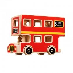 Bus de Londres + personnages