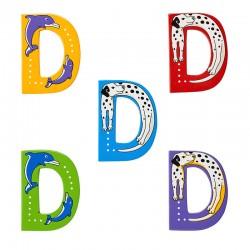 D HOOFDLETTERS - Dieren
