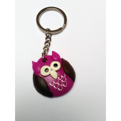 Porte-clé hibou