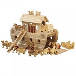 Arche de Noé bois naturel