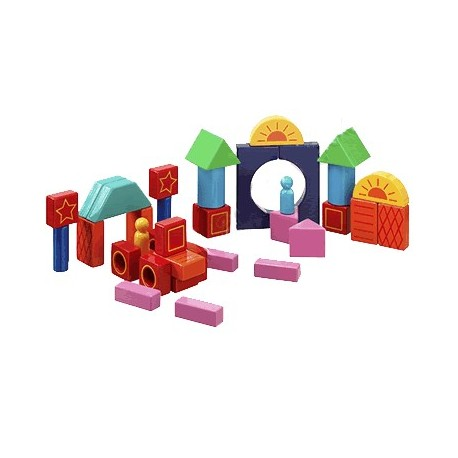 Blocs de construction couleurs