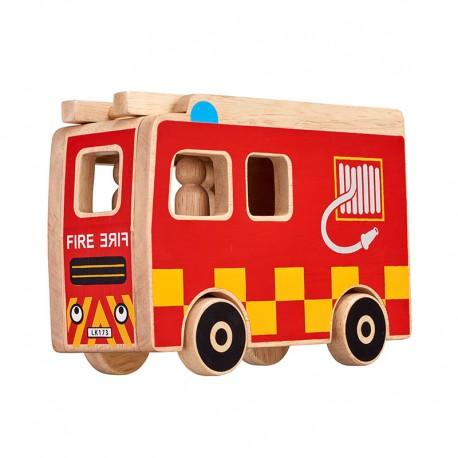 Camion de pompiers + personnages