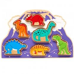 trieur de formes dinosaures 1