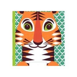 Cahier FSC  motif tigre