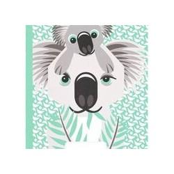 Cahier FSC motif koala