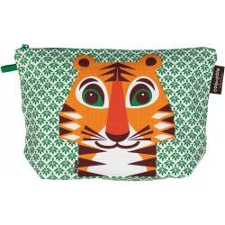 Trousse de toilette motif tigre