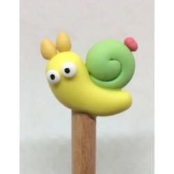 Crayons embouts escargot