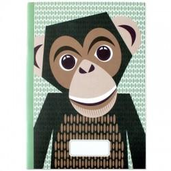 Cahier FSC motif Chimpanzé