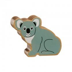 Koala geschilderd natuurlijk hout