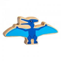 Pteranodon bois naturel peint