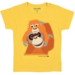 T-shirt enfant manches courtes Orang-Outan