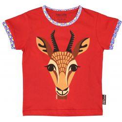 T-shirt enfant manches courtes Gazelle