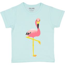 Kind T-shirt korte mouwen Flamingo