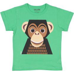 T-shirt enfant manches courtes Chimpanzé