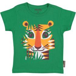 Kind T-shirt korte mouwen Tijger