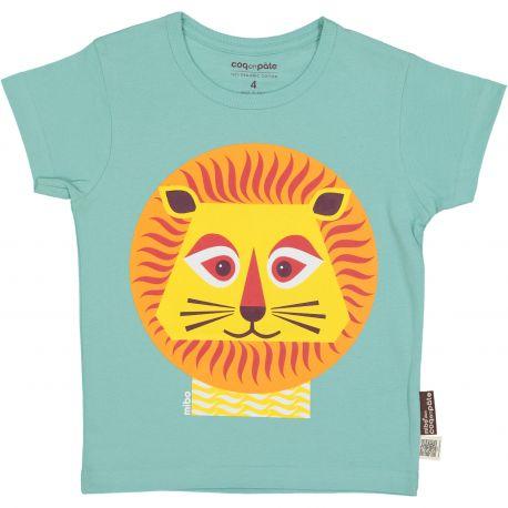 T-shirt enfant manches courtes Lion