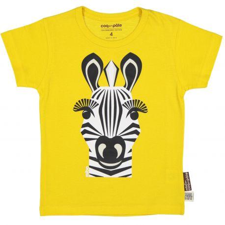 T-shirt enfant manches courtes Zèbre