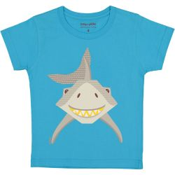 Kind T-shirt korte mouwen Haai