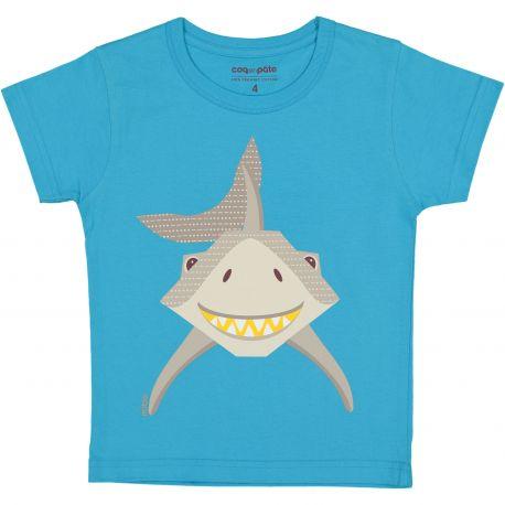 52eacca436c Kind T-shirt korte mouwen Haai - La Pachamama