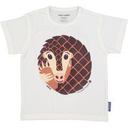 T-shirt enfant manches courtes Pangolin