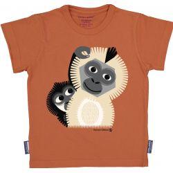 T-shirt enfant manches courtes Gibbon