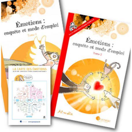 Pack promo - Emotions: Enquête et mode d'emploi 1&2
