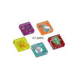 Pack promo 5 jeux : 4 + 1 gratuit