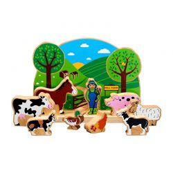 Petite ferme (10 pièces)