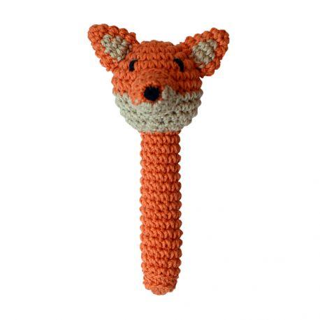 hochet renard crochet