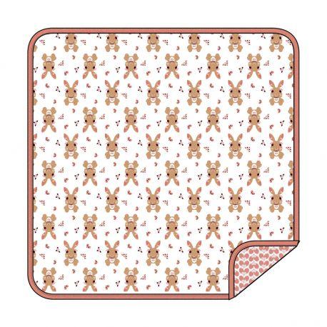 Couverture motif Lapin