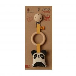 Hochet poussette panda
