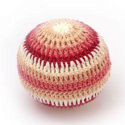 Hochet balle crochet XXL