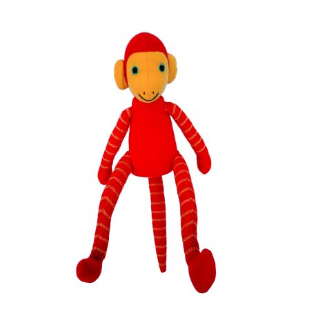 Jim le singe (rouge) 25 cm