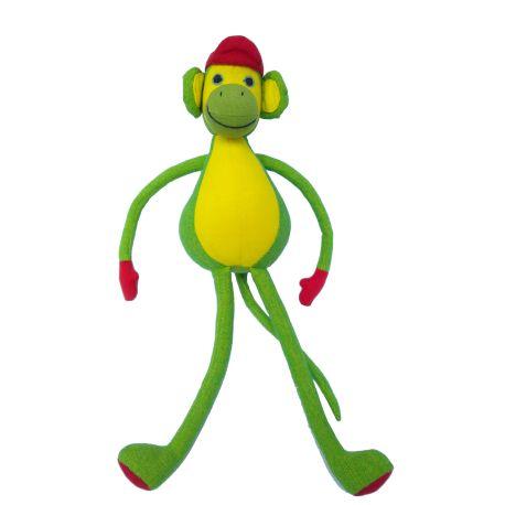 Tom le singe (vert) 30 cm