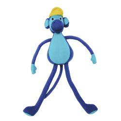 Tom de aap (blauw) 30 cm