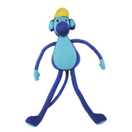 Tom le singe (bleu) 30 cm